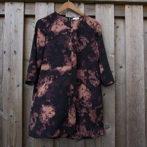Wilfred Myosotis Abstract Floral Dress